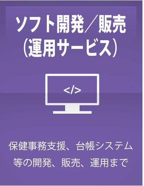 ソフト開発/販売(運用サービス)